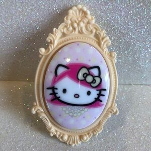 Tarina Tarantino Hello Kitty Pink Head Ring